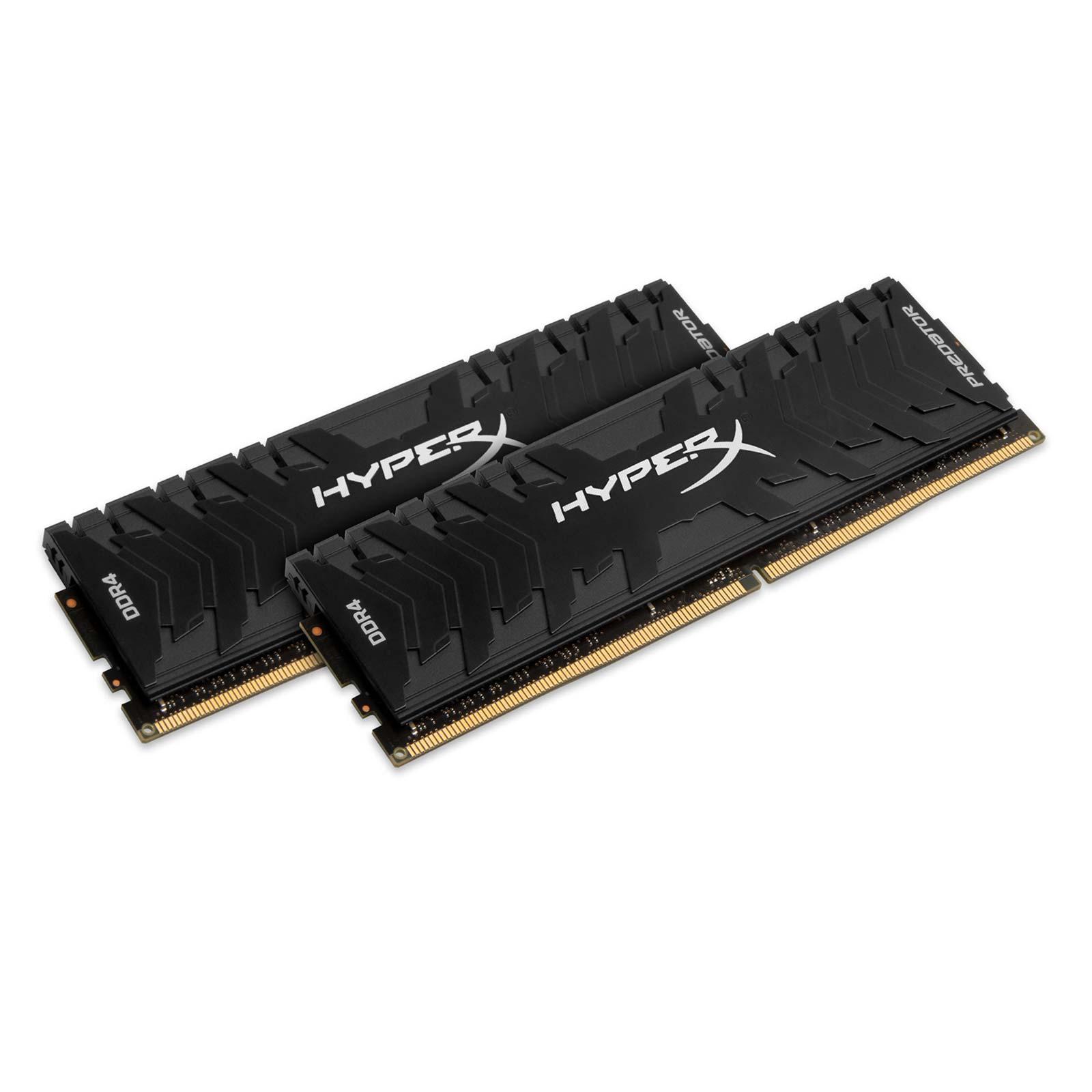 Kingston HX432C16PB3K2/16 16Go (2x8Go DDR4 3200 PC25600) (HX432C16PB3K2/16) - Achat / Vente Mémoire PC sur Cybertek.fr - 0