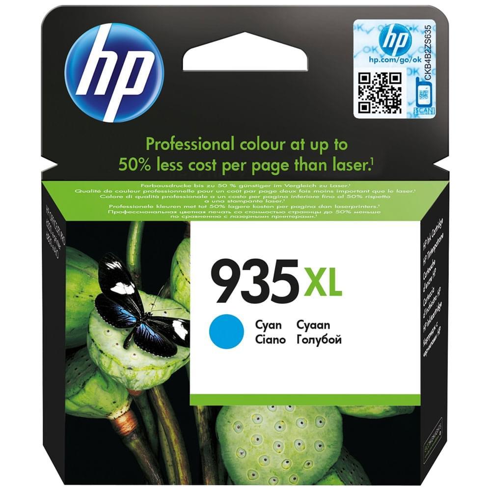 HP Cartouche 935XL Cyan 1000p (C2P24AE) - Achat / Vente Consommable imprimante sur Cybertek.fr - 0
