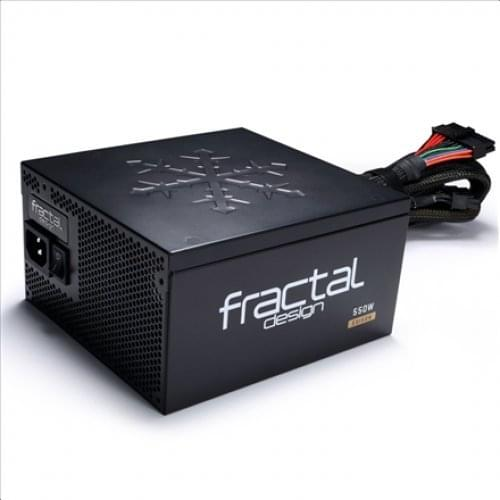 Alimentation PC Fractal Design ATX 550 Watts Edison M 550 80+ Gold Modulaire - 0