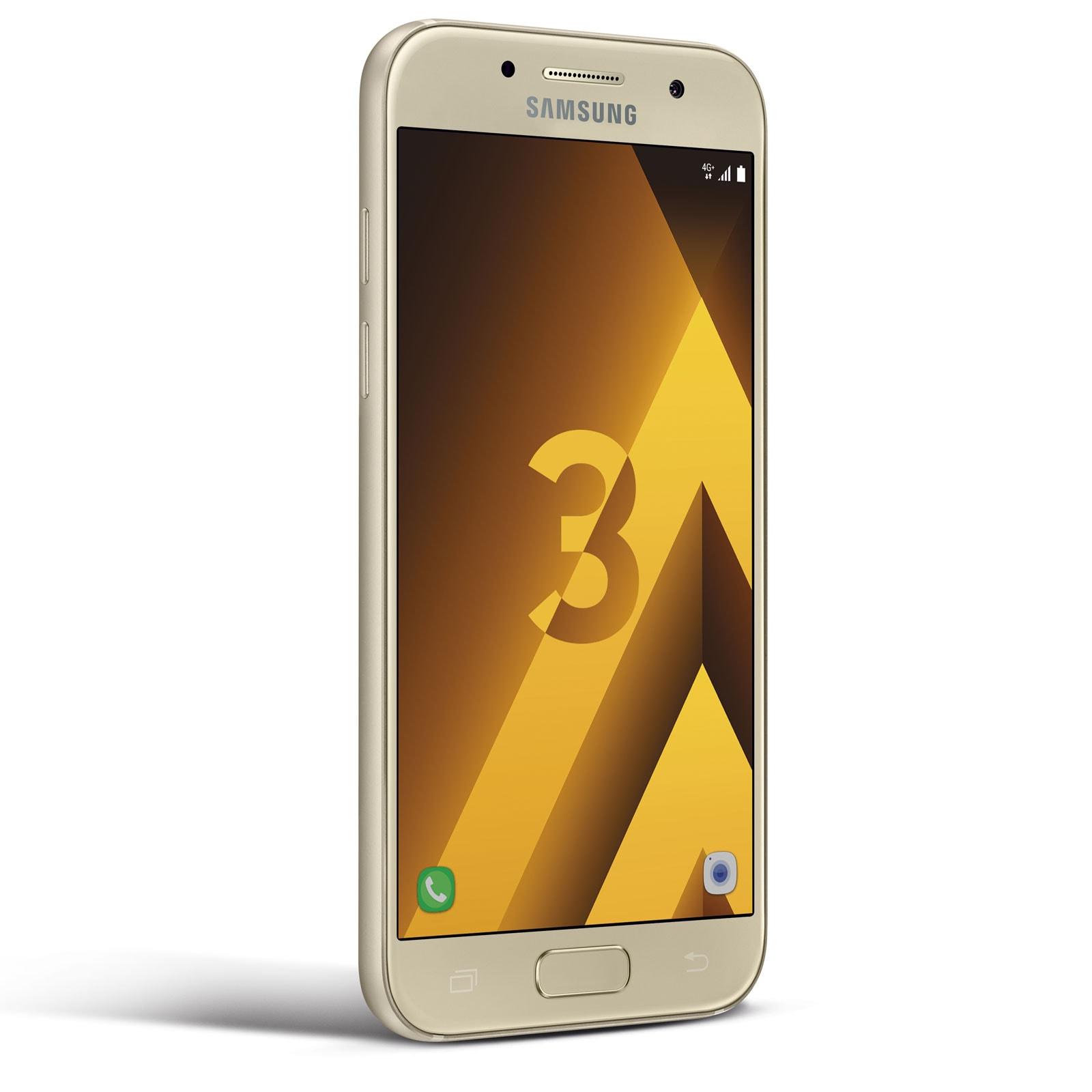 Samsung Galaxy A3 (2017) Or - Téléphonie Samsung - Cybertek.fr - 4