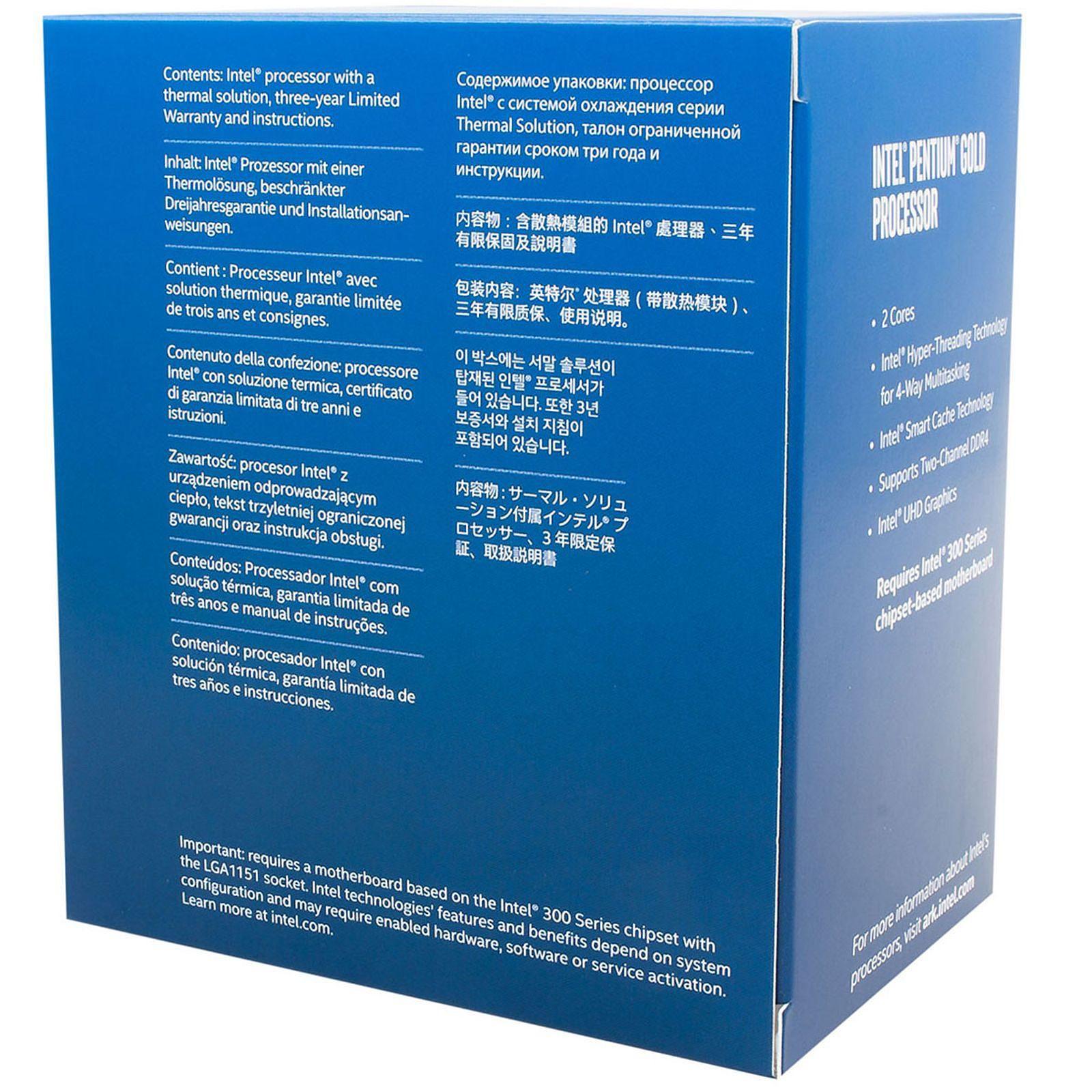 Intel Pentium G5420 - 3.8GHz - Processeur Intel - Cybertek.fr - 1