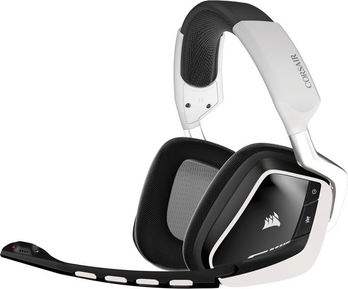 Corsair Gaming VOID Wireless RGB 7.1 White (CA-9011145-EU) - Achat / Vente Micro-casque sur Cybertek.fr - 0