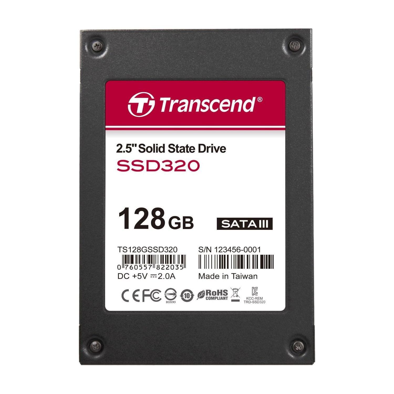 """Transcend 128Go SSD TS128GSSD320 Sata 600 (TS128GSSD320) - Achat / Vente Disque dur interne 2.5"""" sur Cybertek.fr - 0"""