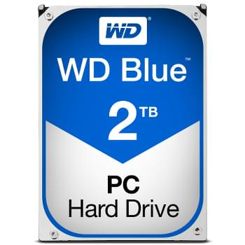 "WD WD20EZRZ 2To 5400 Tr/min - Disque dur interne 3.5"" - 0"