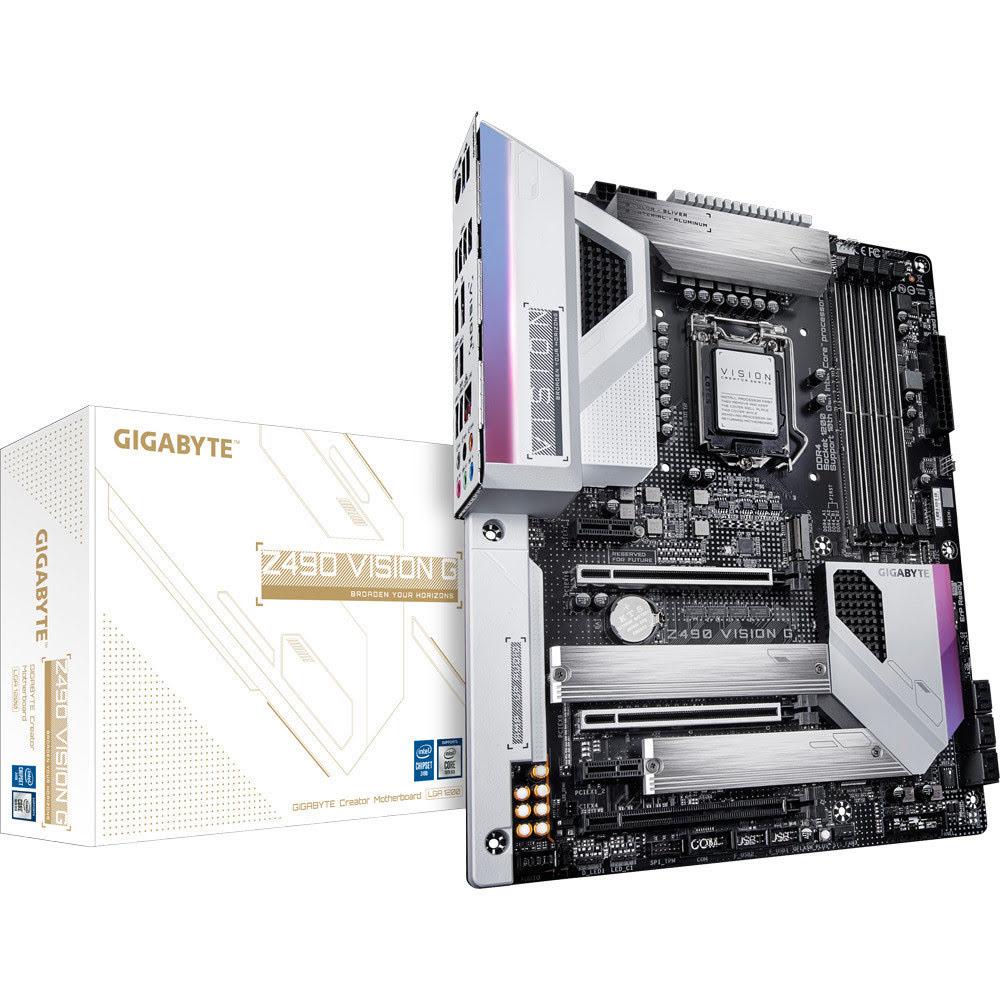 Gigabyte Z490 VISION G ATX DDR4 - Carte mère Gigabyte - 0