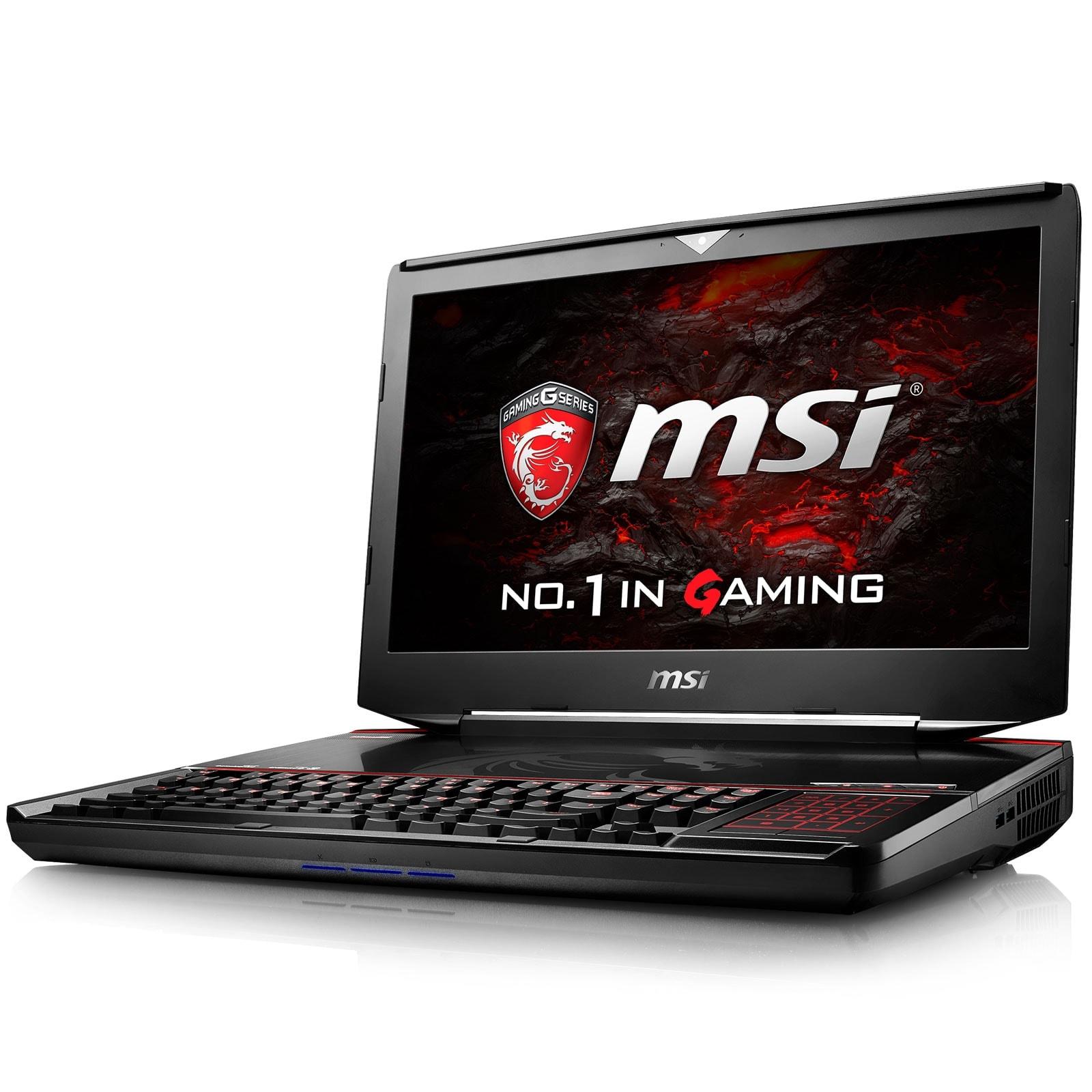 MSI GT83VR 6RF (Titan SLI)-037FR  (9S7-181512-037) - Achat / Vente PC portable sur Cybertek.fr - 1
