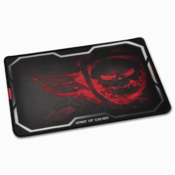 S.O.G Gaming Smokey Skull - XL/Rouge - Tapis de souris S.O.G - 1
