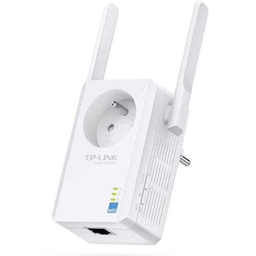 TP-Link TL-WA865RE Répéteur WiFi 300Mbps avec prise (TL-WA865RE) - Achat / Vente Point d'accès et Répéteur WiFi sur Cybertek.fr - 1
