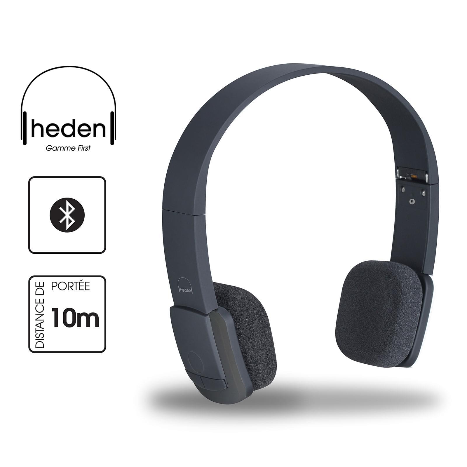 Heden First Noir (MICHEF22CA) - Achat / Vente Micro-casque sur Cybertek.fr - 0