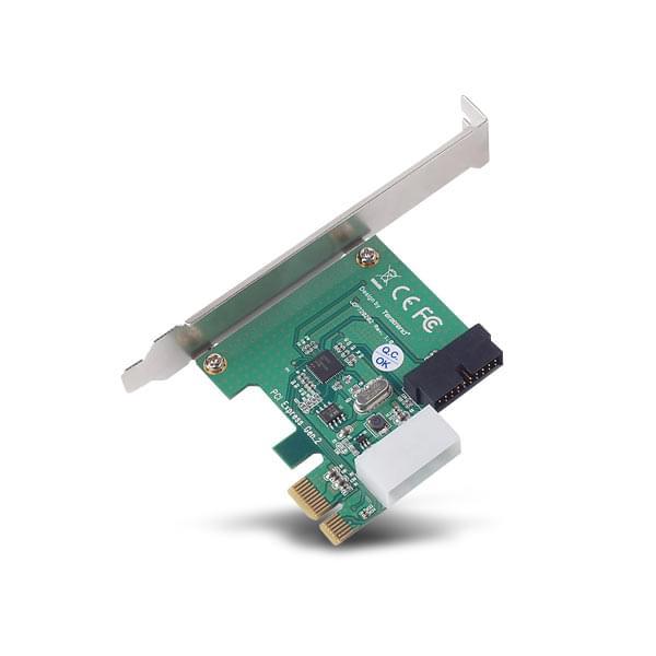 Silverstone PCI-E 2 ports USB 3.0 internes (SST-EC01P) - Achat / Vente Carte Controleur sur Cybertek.fr - 0