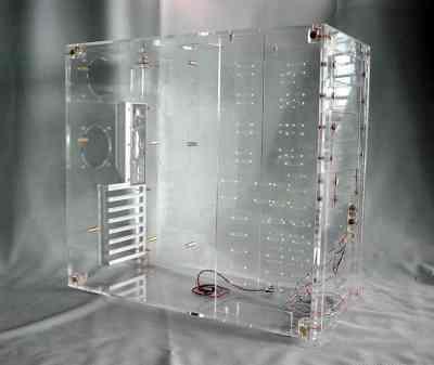 No Name All View Total Plexiglass (sans alim)  - Boîtier PC - 0