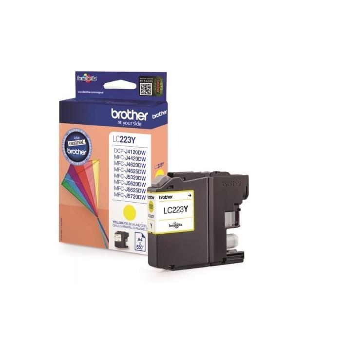Brother Cartouche LC223Y Jaune (LC223Y) - Achat / Vente Consommable Imprimante sur Cybertek.fr - 0