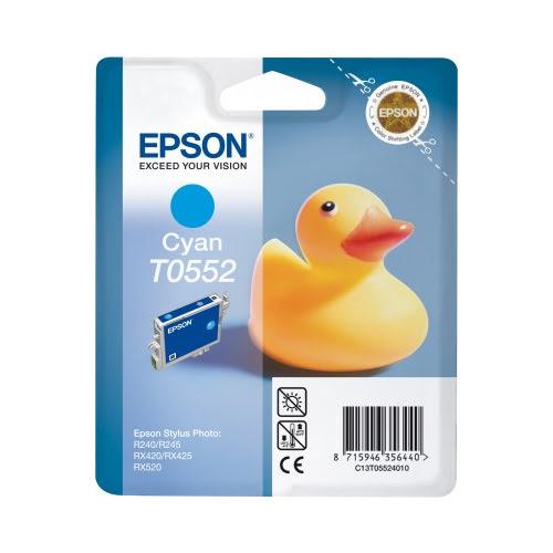 Epson Cartouche T0552 Cyan RX420/425 (C13T0552) - Achat / Vente Consommable Imprimante sur Cybertek.fr - 0