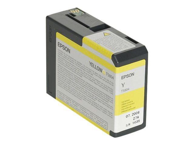 Epson Cartouche Jaune T580400 (C13T580400) - Achat / Vente Consommable Imprimante sur Cybertek.fr - 0
