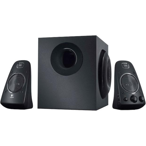Logitech 2HP+Caisson Speaker System Z623 THX - Enceinte PC Logitech - 0