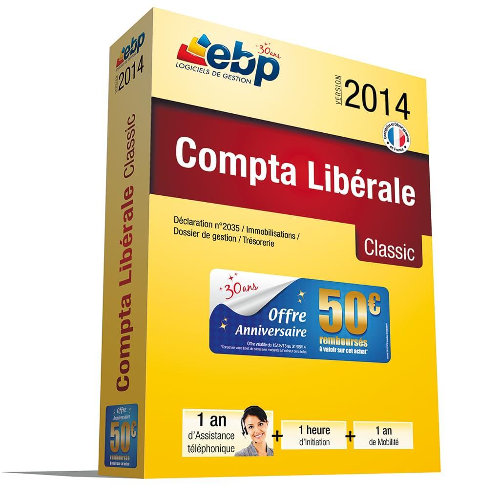 EBP Compta Libérale Classic OL 2014 + Services VIP - Logiciel application - 0