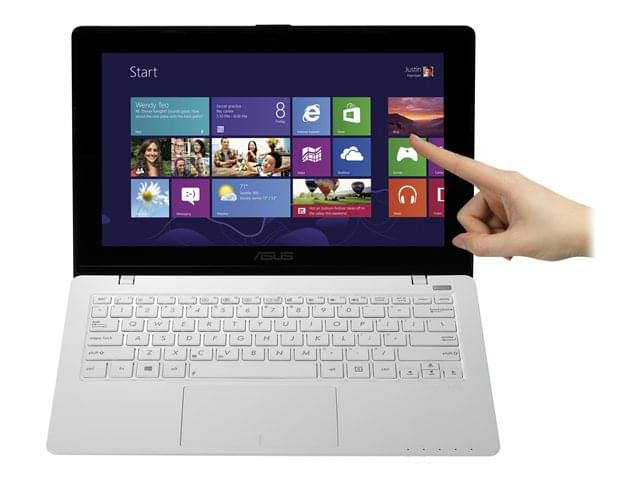 Asus X200CA-CT048H Blanc (X200CA-CT048H) - Achat / Vente PC Portable sur Cybertek.fr - 0
