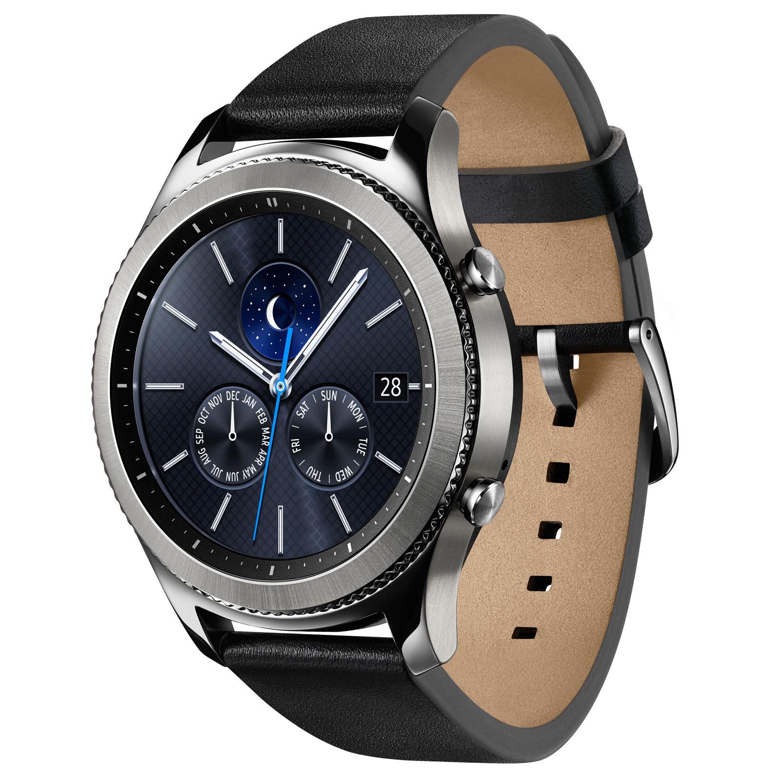 Samsung Gear S3 Classic (SM-R770NZSAXEF) - Achat / Vente Objet connecté / Domotique sur Cybertek.fr - 0