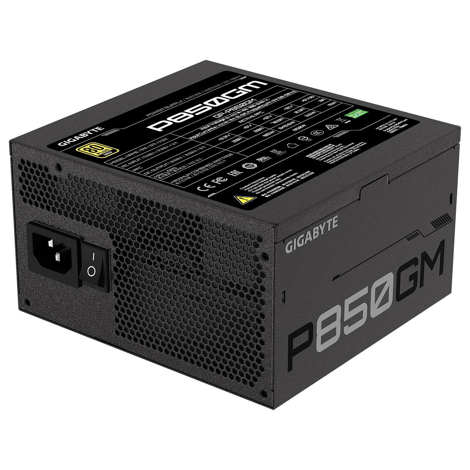 Gigabyte P850GM Fully Modular (850W 80+ Gold) - Alimentation - 4