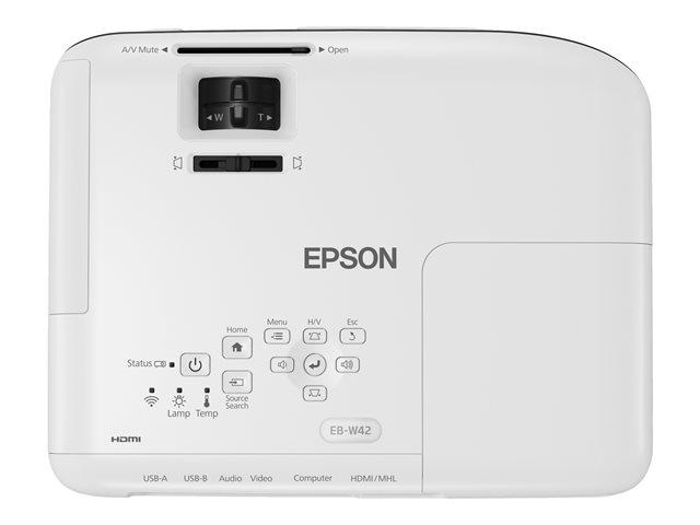 Epson EB-W42 - Vidéoprojecteur Epson - Cybertek.fr - 2