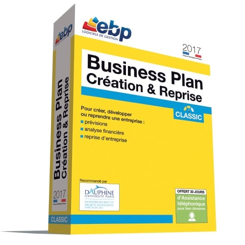 EBP Business Plan Pratic 2017 + VIP (1055E091FAA) - Achat / Vente Logiciel Application sur Cybertek.fr - 0