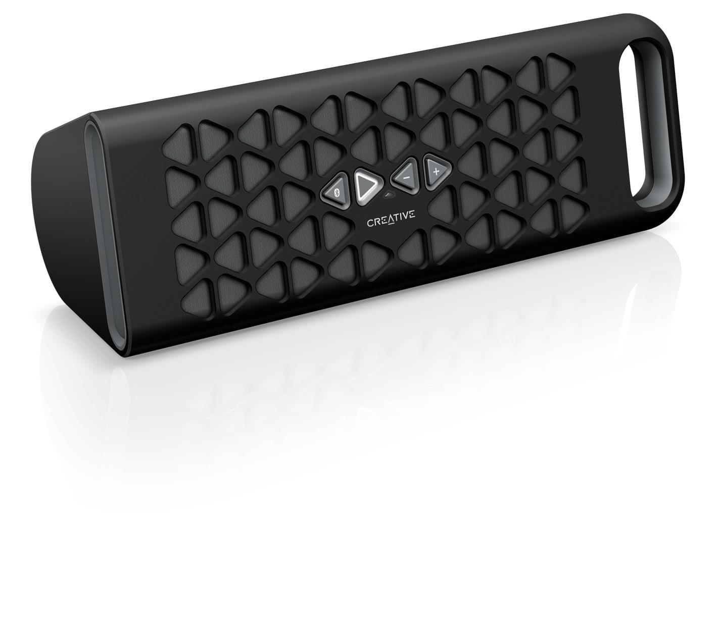 Creative Muvo 10 Bluetooth Black (51MF8180AA000 soldé) - Achat / Vente Enceinte PC sur Cybertek.fr - 0