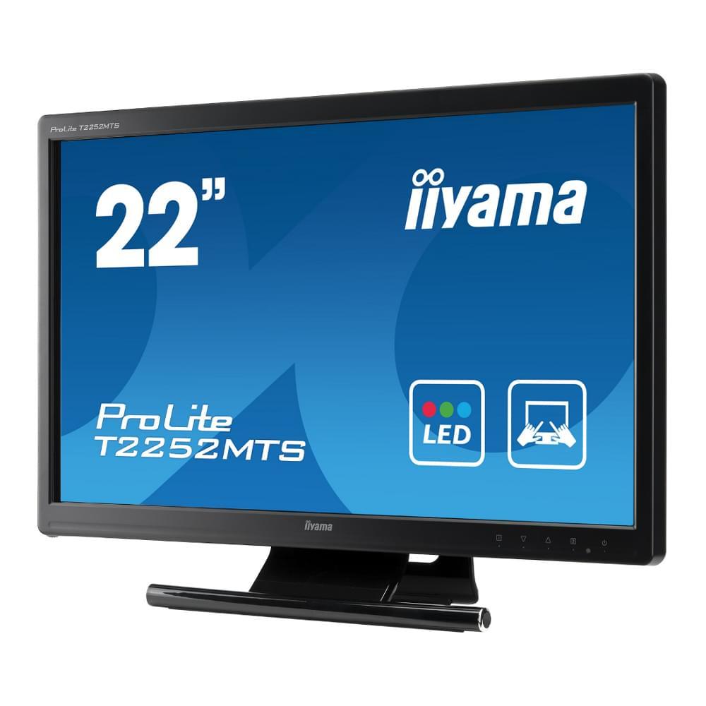 Iiyama T2252MTS-B1 (T2252MTS-B1) - Achat / Vente Ecran PC sur Cybertek.fr - 0