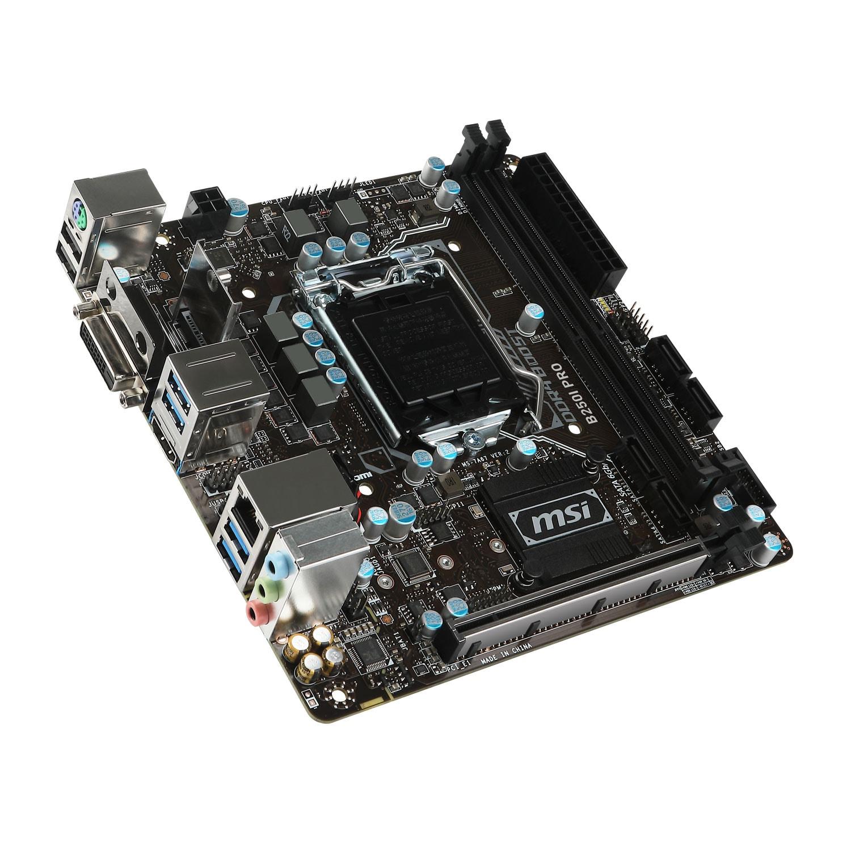 MSI B250I PRO Mini-ITX DDR4 - Carte mère MSI - Cybertek.fr - 0
