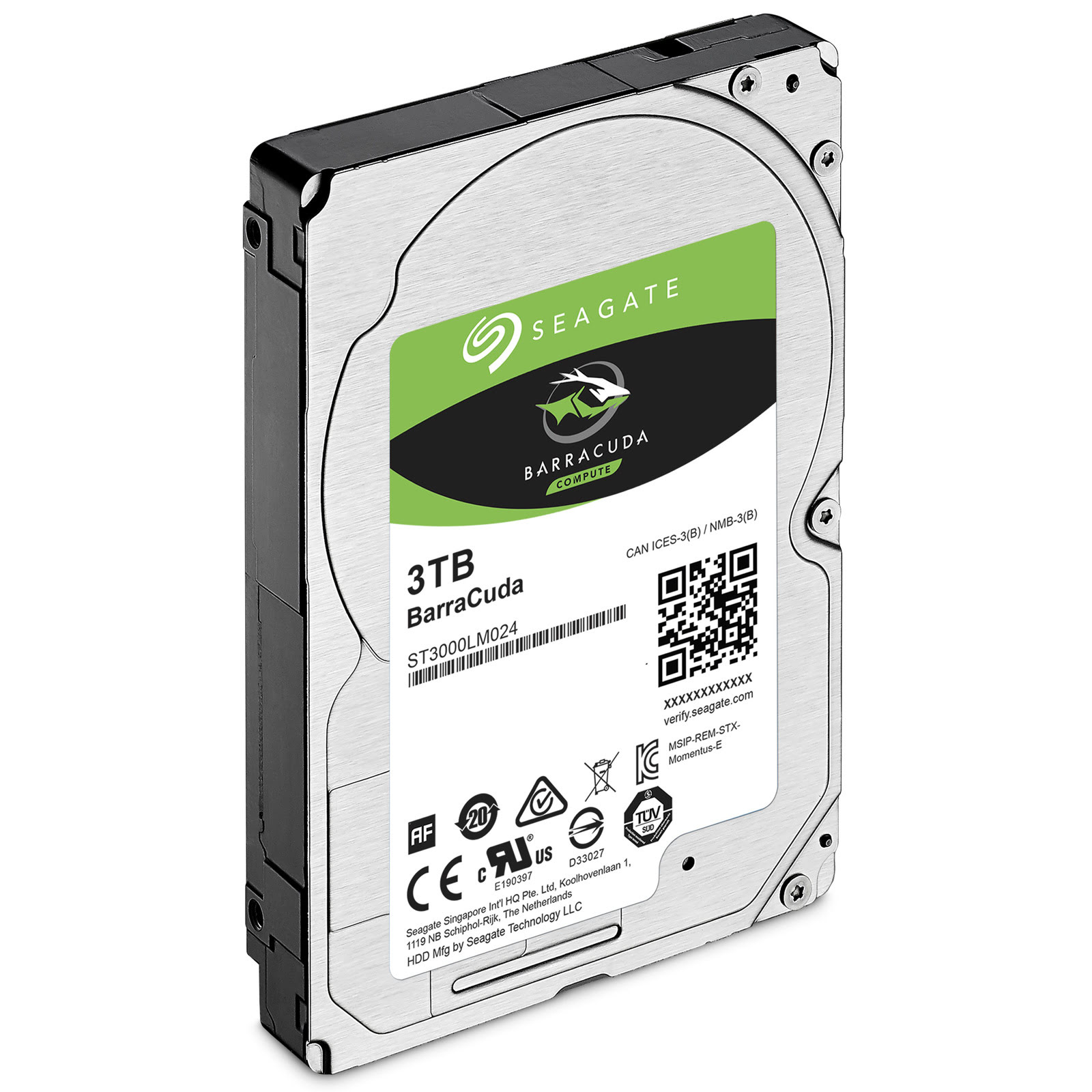 "Seagate ST3000LM024 3 To 5400 tr/min - Disque dur interne 2.5"" - 2"