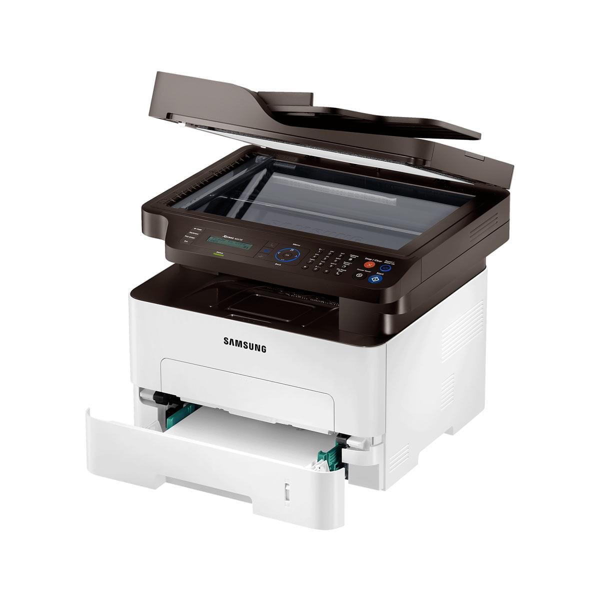 Samsung SL-M2675FN (Laser Mono./Fax/Reseau) (SL-M2675FN/SEE) - Achat / Vente Imprimante Multifonction sur Cybertek.fr - 2