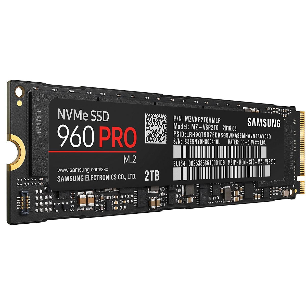 Samsung 960 PRO 2To - Disque SSD Samsung - Cybertek.fr - 3