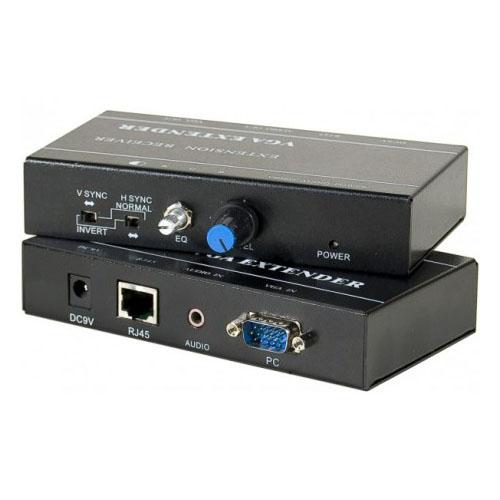 Extender VGA + Audio via RJ45 Cat6 - Connectique PC - Cybertek.fr - 0