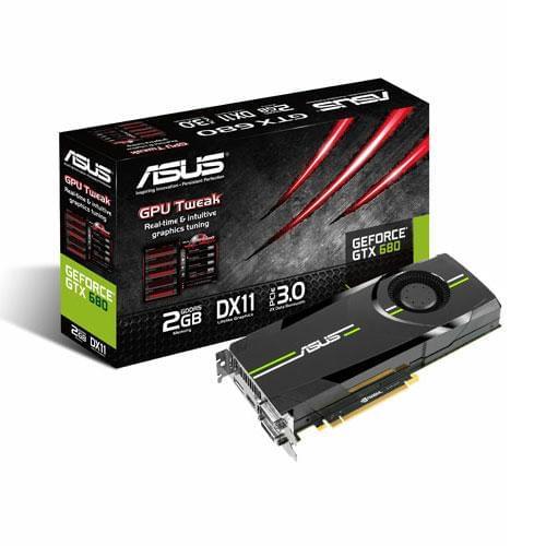 Asus GTX680-DC2O-2GD5 2Go - Carte graphique Asus - Cybertek.fr - 0