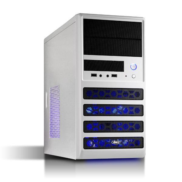 Advance mT/Sans Alim/mATX Blanc - Boîtier PC Advance - Cybertek.fr - 0