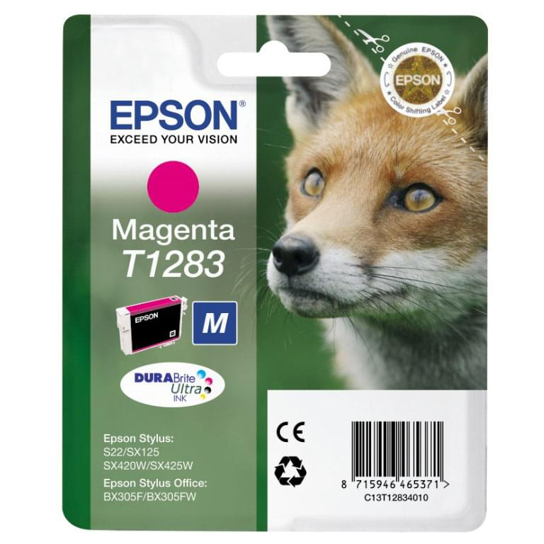 Consommable imprimante Epson Cartouche T1283 Magenta
