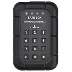 """Cybertek Boîtier externe Bluestork Safe Box encrypté USB3.0 pour DD 2.5"""" SATA"""