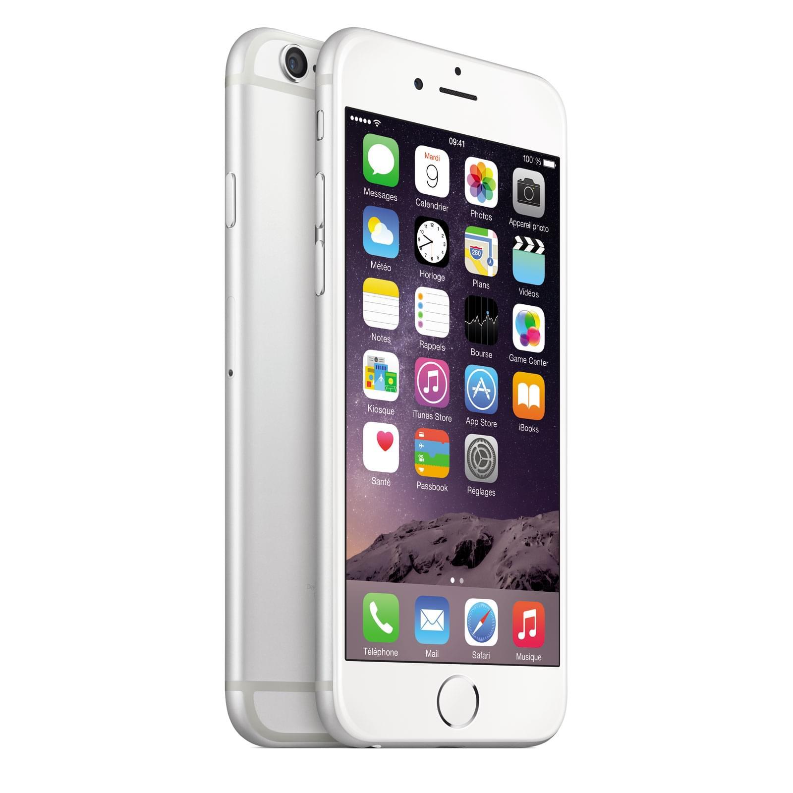 Apple iPhone 6 16Go Argent (MG482ZD/A) - Achat / Vente Téléphonie sur Cybertek.fr - 0