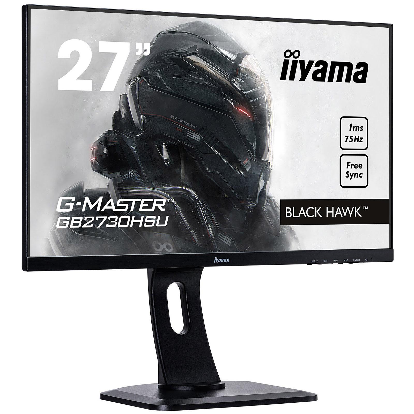 """Iiyama 27""""  GB2730HSU-B1 - Ecran PC Iiyama - Cybertek.fr - 4"""