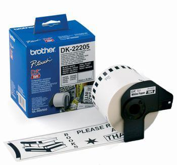 Etiquettes roll (6.2 x 30.5 cm) - DK22205 - Brother - Cybertek.fr - 0