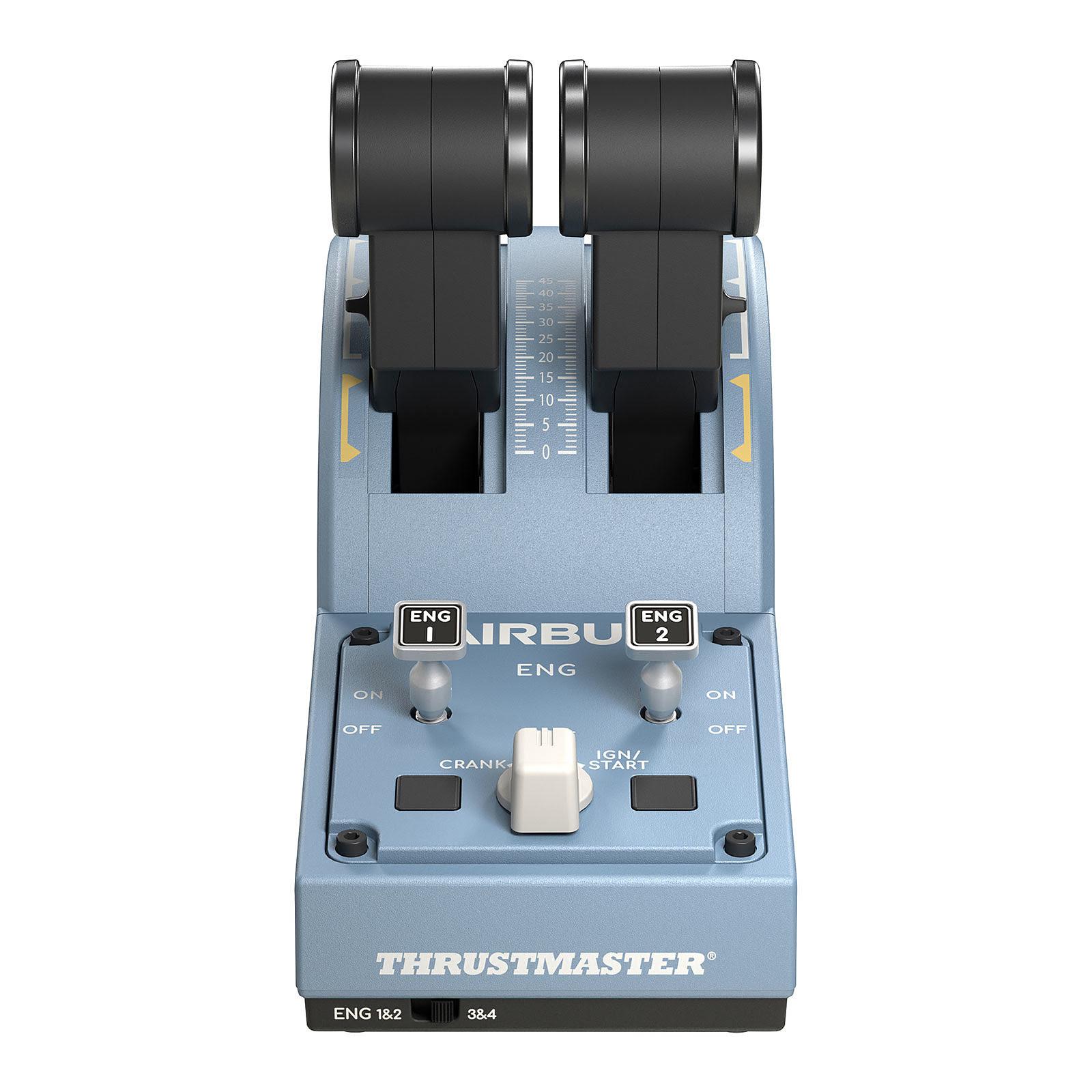 ThrustMaster TCA Officer Pack Airbus Edition - Périphérique de jeu - 2