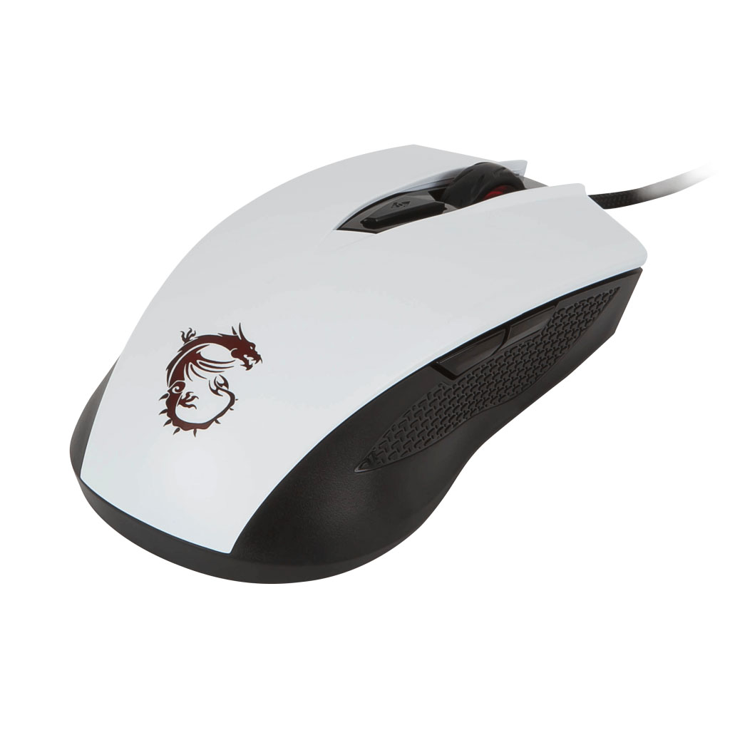 MSI CLUTCH GM40 White Gaming Mouse - Souris PC MSI - Cybertek.fr - 1