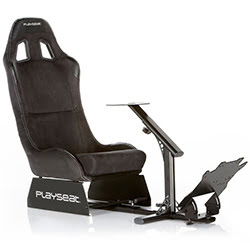 image produit Playseat Evolution Alcantara (siège + support volant) Cybertek