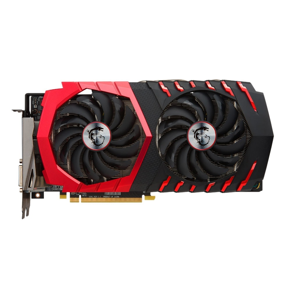 MSI RX 480 GAMING X 8G  - Carte graphique MSI - Cybertek.fr - 2