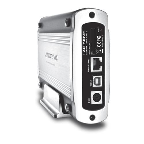 """No Name USB2.0/RJ45 100BT pour DD 3.5"""" IDE (HD9-U2LA) - Achat / Vente Boîtier externe sur Cybertek.fr - 0"""