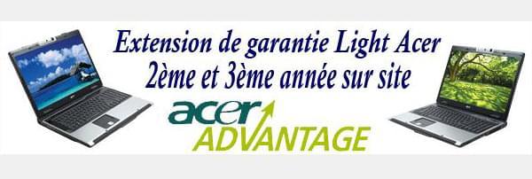 """Acer Ext. Gtie Light 2°/3° année+Sacoche 17""""+Souris (PA.CKFUL.E11  --OBSO--) - Achat / Vente Accessoire PC portable sur Cybertek.fr - 0"""