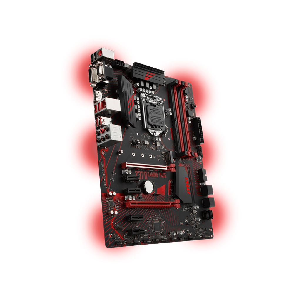 MSI Z370 GAMING PLUS ATX DDR4 - Carte mère MSI - Cybertek.fr - 2