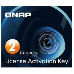 Qnap Pack 2 Licences Surveillance Station PRO (LIC-CAM-NAS-2CH) - Achat / Vente Serveur NAS sur Cybertek.fr - 0