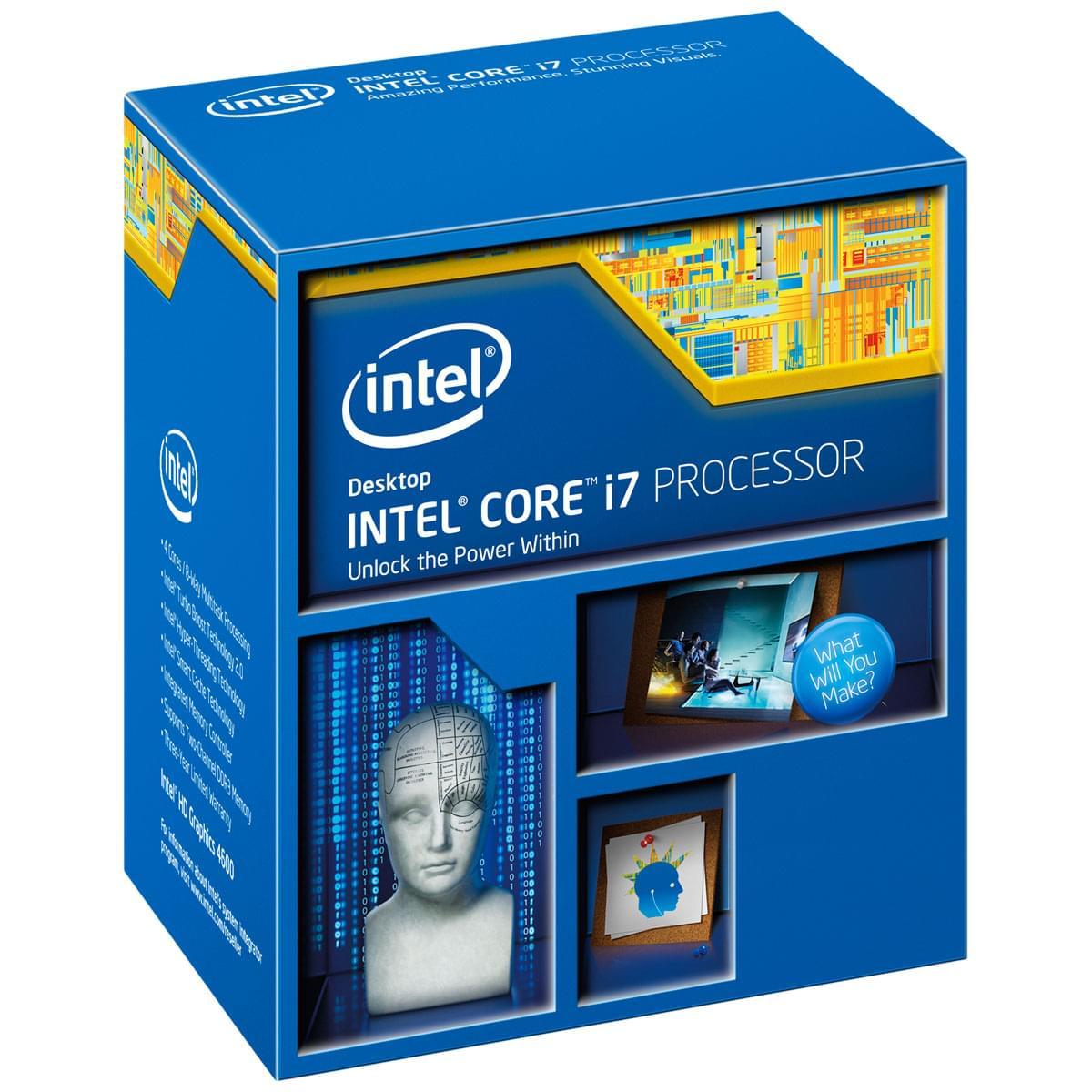 Intel Core i7 4770K (BX80646I74770K => i7 4790k) - Achat / Vente Processeur sur Cybertek.fr - 0