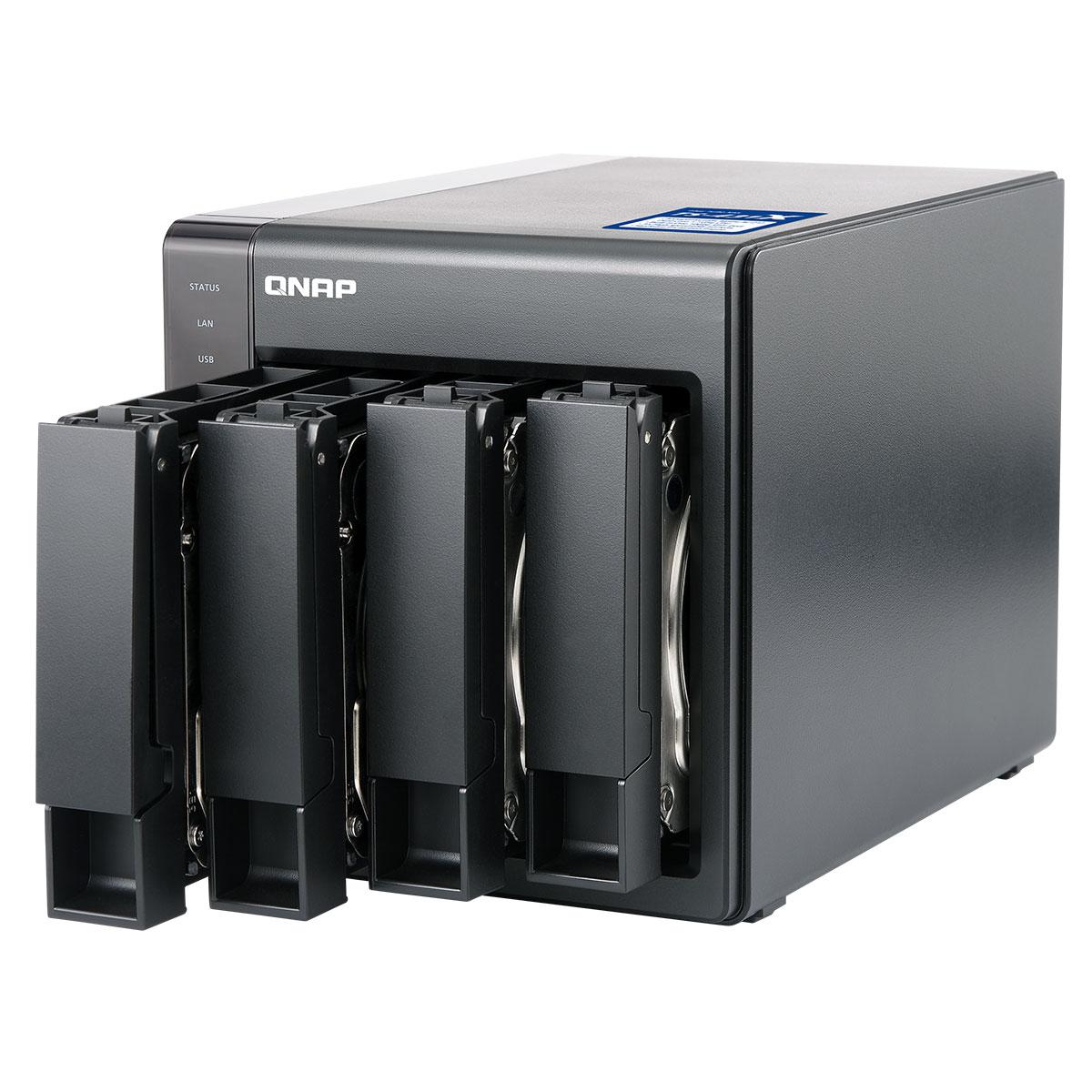 Qnap TS-431X-2G - 4 HDD - Serveur NAS Qnap - Cybertek.fr - 2
