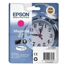 Cartouche 27 Magenta - T2703 pour imprimante Jet d'encre Epson - 0